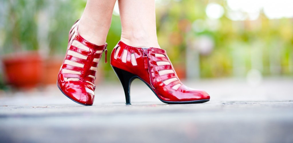 Dorothy and her magical ruby slippers...