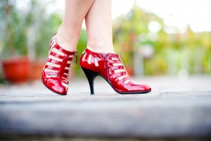 Dorothy and her magical ruby slippers….